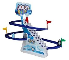 Jolly FUNNY Pinguino Gara Gioco Slide Classic Racer Binario Elettronico Bambini