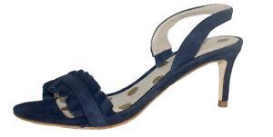 Boden Navy Suede Slingbacks Sandals Various Sizes NIB SP £80