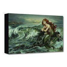 """Disney Fine Art Heather Edwards """"Drawn to the Shore"""" Limited Edition Canvas"""