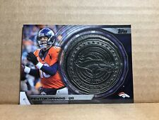2014 Topps Kickoff Coins #NFLKCPM Peyton Manning Denver Broncos Medalion Relic