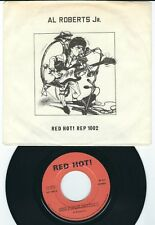 Neo Rockabilly Al Roberts RED HOT 1002 Boppin at the hop / Spider in the bath ♫