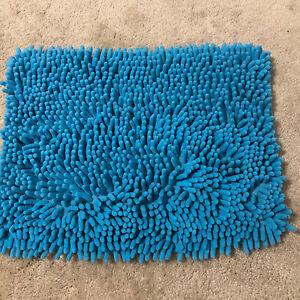 Locker Style Shag Rug For Your School Locker Shaggy Rug ~ Turquoise