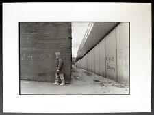 2 Photos Frédéric Sautereau - Belfast - Epreuves argentiques  30 x 40 -