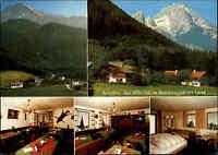 Marktschellenberg bei Berchtesgaden Pension Depel color Ansichtskarte frankiert