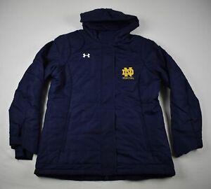 Notre Dame Fighting Irish Under Armour Winter Jacket Men's Used Multiple Sizes