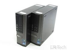 Lot of 2 Dell Optiplex 790 SFF Intel i5 2400 3.1GHz 8GB RAM 1TB HDD NO OS