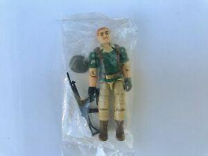 G.I. GI Joe CRANKCASE 1985 - MINT-IN-SEALED-BAG MIB MISB