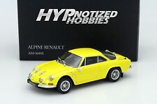 KYOSHO 1:18 ALPINE RENAULT A110 1600S DIE-CAST YELLOW 08484