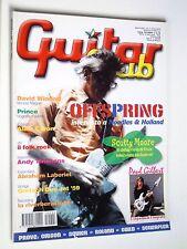 GUITAR CLUB  Apr 2001  OFFSPRING CHITARRA ALAIN CARON PRINCE SCOTTY MOORE FUSION