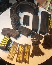 BIG LOT OF TYCO SLOT CAR TRACK 146 PIECES