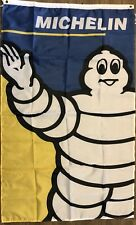 Michelin Flag 3x5 Automotive Banner Tires Wall Garage Man Cave