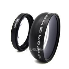49mm 0.45X Wide Angle Lens For Sony A NEX3 NEX5 NEX NEX-C3 Camera E0Xc