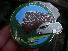 PORSCHE 356 - FALL FESTIVAL / YOSEMITE PARK 2012 - CLUB USA Plakette Car Badge