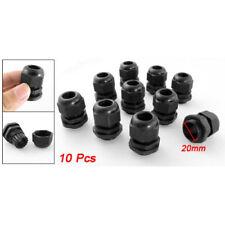 Wholesale 10 Pcs White Plastic Waterproof Cable Glands M20 x 1.5 H6I6 U4G7