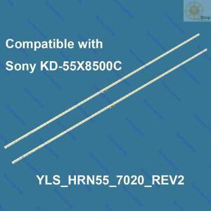 LED TV backlight strip kit 75.P3F12G001 YLS_HRN55_7020_REV2 for Sony KD-55X8500C