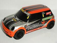 Scalextric - BMW Mini Cooper #9 Orange - Exc. Cdn.