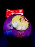 Disney Parks Princess Belle Arial Cinderella Christmas Ornament Ball Brand New