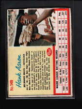 1962 POST CEREAL #149 HANK AARON EX D1668