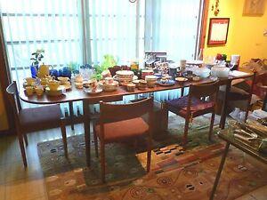 Teak Dining Table Antique Furniture For Sale Ebay