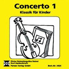 Deutsche Concerto's mit Musik-CD
