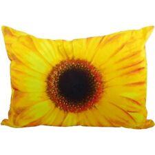 Kissen - Dekokissen Blüte - Blume Gerbera Gelb ca 50 x 35 cm Zierkissen