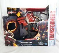 Hasbro The Last Knight Mega 1-Step Turbo Changer Dragonstorm Transformer Figure