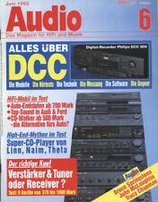 Audio 6/92 Linn Numerik/Karik, Naim NA CDS, Theta DSPro basic II DATA , La V 100