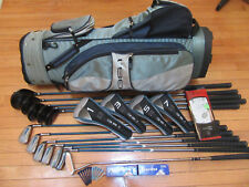 "Ladies RH Acuity ""GS-1"" Woods-Irons-Putter Complete 12 Pc.Golf Set+Cart Bag+++"