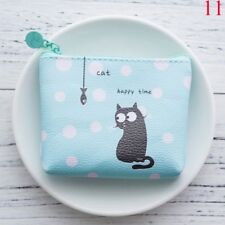 Girls Women Lovely Cartoon Waterproof Wallet Coin Purse Money Bags Pouch Wallets 11