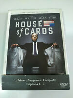 House of Cards Primera Temporada 1 Completa - 4 x DVD Español Ingles - 3T