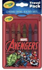 Crayola Travel Pack Marvel Avengers - Brand New