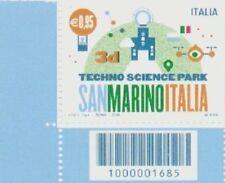 1685 CODICE A BARRE Parco Scientifico Tecnologico San Marino Italia 3D ANNO 2015