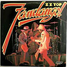"ZZ TOP ""Fandango!"" Vinyl LP - 1975 London [RL Mastered] PRC First Press - VG++"
