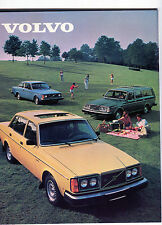 1980 Volvo Sales Catalog