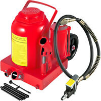Air Hydraulic Bottle Jack 50 Ton Manual Heavy Duty Auto SUV Truck RV Repair