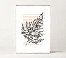 GARDEN N°2 / Blatt / Farn / Kunstdruck / Poster / Skandinavisch / minimalistisch