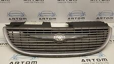 Chrysler Voyager & Grand Voyager 01-07 Chrome Front Bumper Grill GRILLE