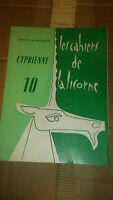 Odette de Marquez – Les cahiers de la licorne 10 – Cyprienne (dédicacé)