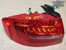 13-16 AUDI A4 REAR RIGHT PASS SIDE OUTER TRUNK DECK LID LED TAIL LIGHT LAMP OEM