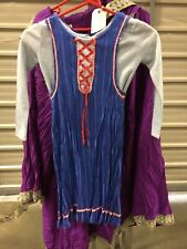 Tudor Peasant Girl Dress Fancy Dress