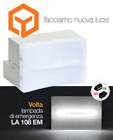 LA108EM LAMPADA EMERGENZA ESTRAIBILE INCASSO 3MODULI BTICINO LIGHT LIVING INT.