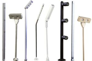 2pcs Jewelry Showcase LED Stem Pole light for cabinet trade show display