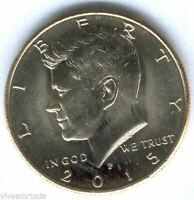 U.S.A. 1/2 Dolar 2015 Kennedy Denver @ Sin Circular @