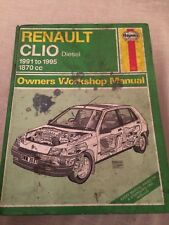HAYNES MANUAL 3031 RENAULTCLIO DIESEL 1991 to 1995 , FREE UK POSTAGE