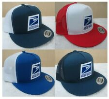 Flatbill Snapback two tone mesh cap/hat by Yupoong Usps Free Shipping!