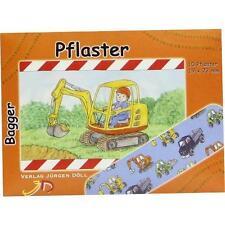 KINDERPFLASTER Bagger Briefchen 10St Pflaster PZN 9078297