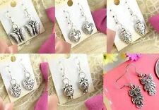 Free Wholesale Lady 6 Pair Charm Fashion Jewelry Style Mixed Stud Earrings