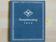Agfa Hauptkatatalog 1939