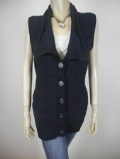 Chunky, Cable Knit Cotton Vest, Sleeveless Jumpers & Cardigans for Women