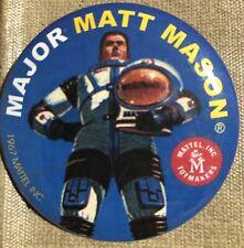 Major Matt Mason Retro Button Pinback Reproduction